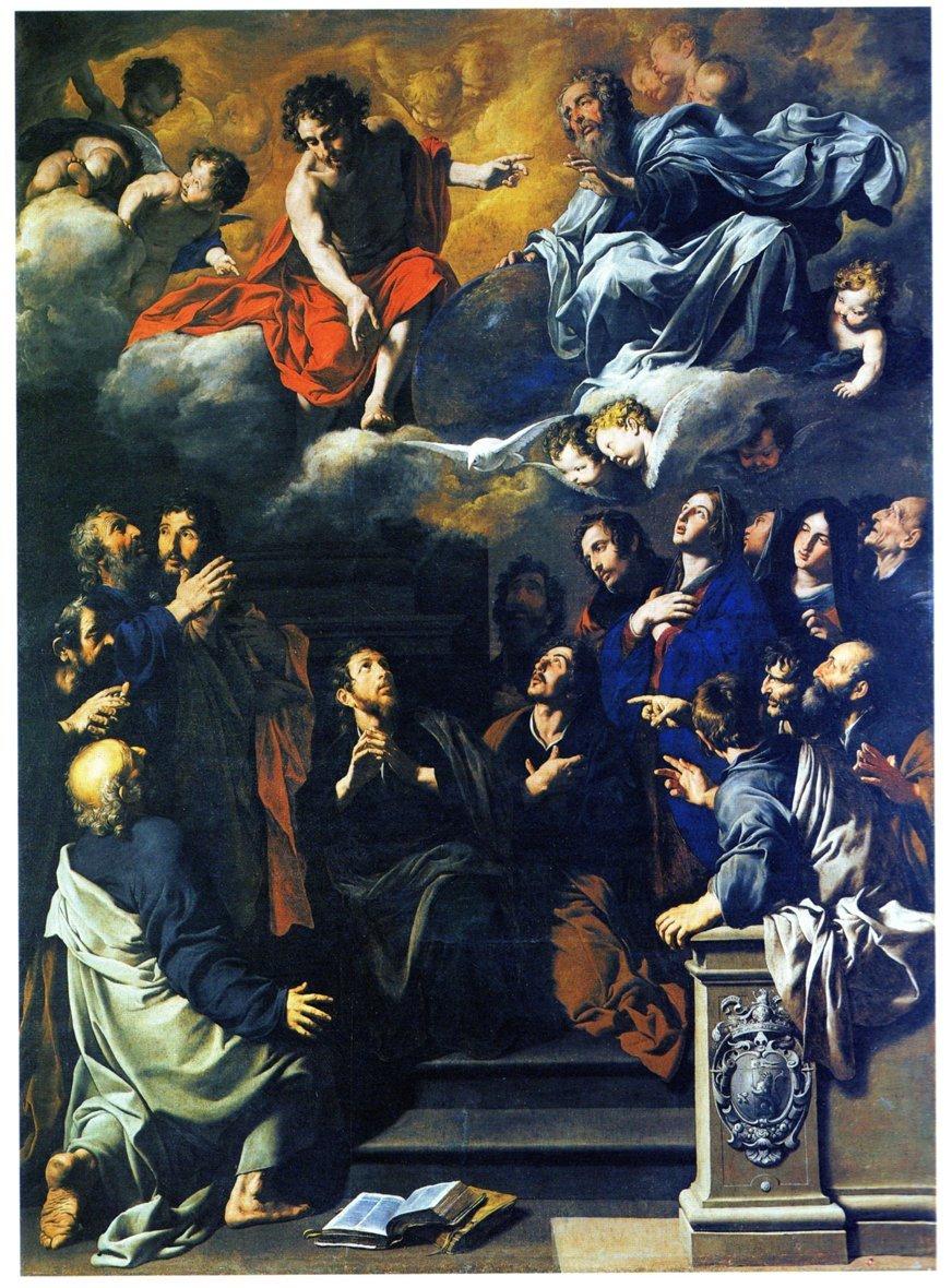 Leonforte, dipinto di Novelli